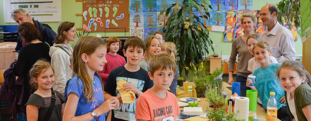 Projektwoche Essbare Natur Grundschule Am Homburg Saarbrücken – Bewegen Sie die Maus vom Bild herunter, um die Animation wieder zu starten